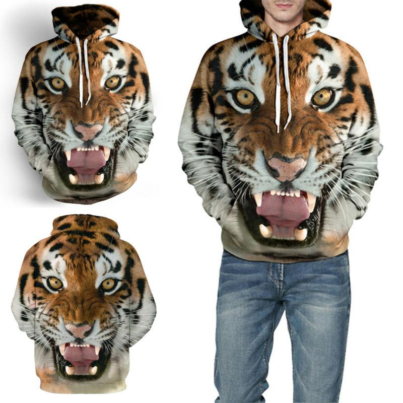 3D Hoodies Men Jacket Outwear