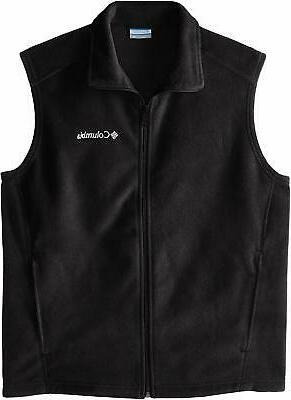 Columbia Men's Steens Mountain Full Zip Soft Fleece Vest, Bl