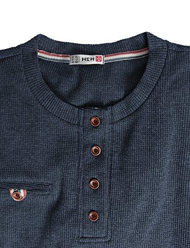 H2H Fit Shirts Bound Pocket of Cotton US L