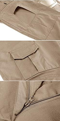 TACVASEN Outdoor Military Cargo Combat Pants Trousers