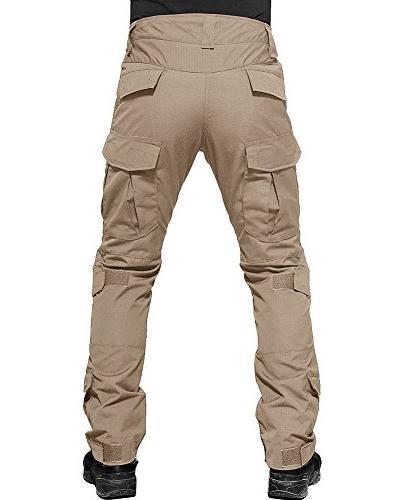 TACVASEN Men's Military Tactical Combat Trousers