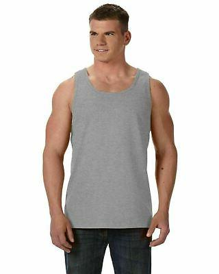 adult hd 100 percent cotton tank top