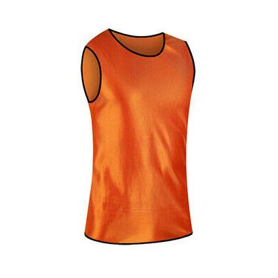 TopTie Adult Scrimmage Training Vest Soccer Jersey Practice