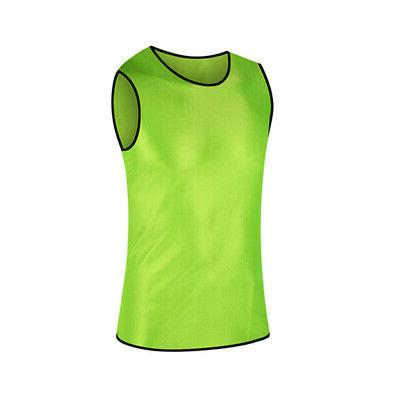 TopTie Adult Scrimmage Training Vest Soccer Jersey Practice Bib,