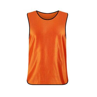 TopTie Adult Scrimmage Training Vest Jersey Practice Bib, Bright