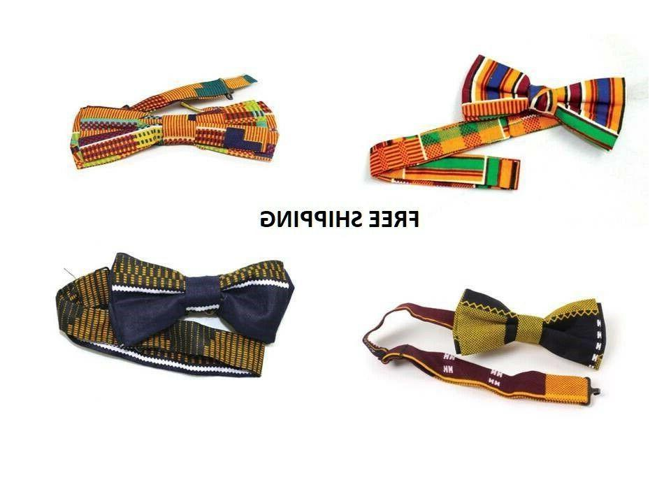 african clothing men kente bow tie select