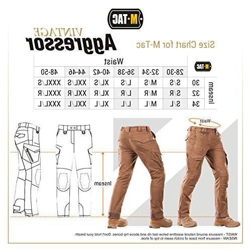 M-Tac Aggressor Tactical Pants - Men Cotton