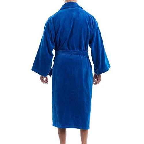 alpine Aiden Mens Cotton Cloth Robe