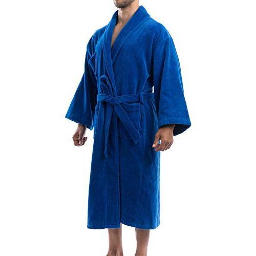 alpine Cotton Cloth Shawl Collar Robe ML