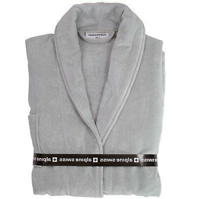 Alpine Cotton Terry Shawl Velour Robe