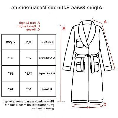Alpine Swiss Shawl Robe
