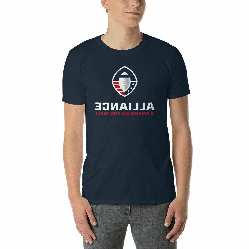 Alliance Of American Football T-Shirt US Women's Clothing