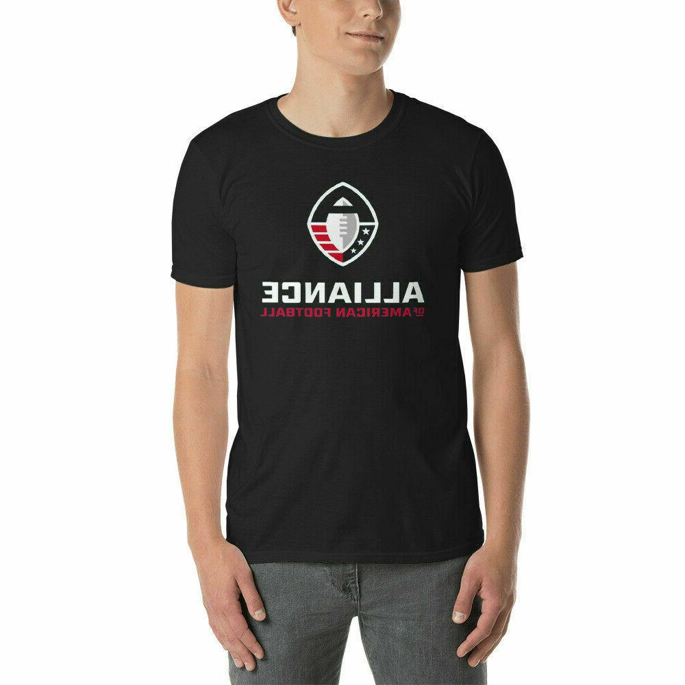alliance of american football t shirt s