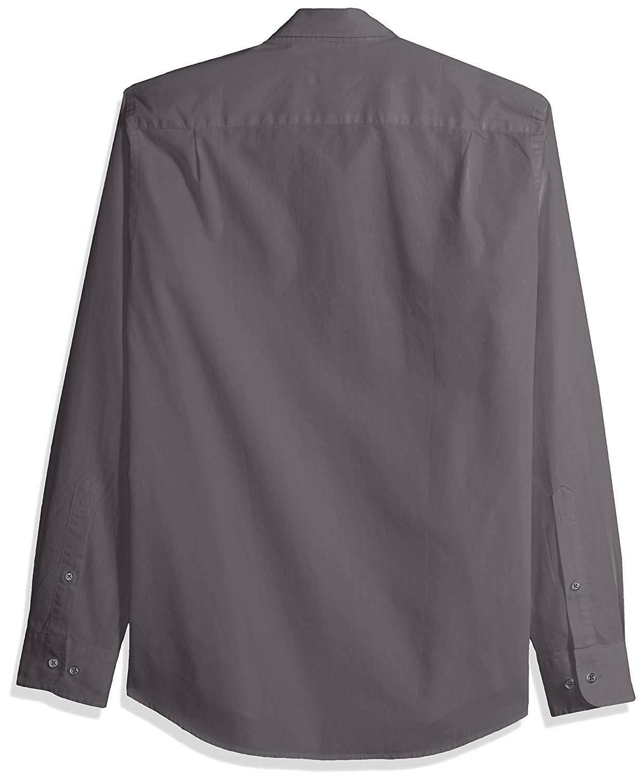 Amazon Slim-Fit Long-Sleeve Poplin Shirt