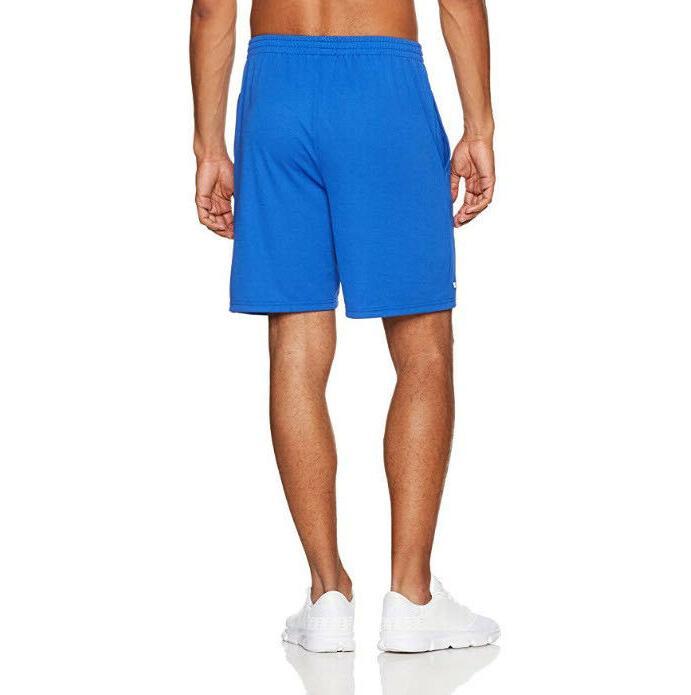 Amazon Essentials Loose-Fit Performance Shorts Black/Royal Blue~B32