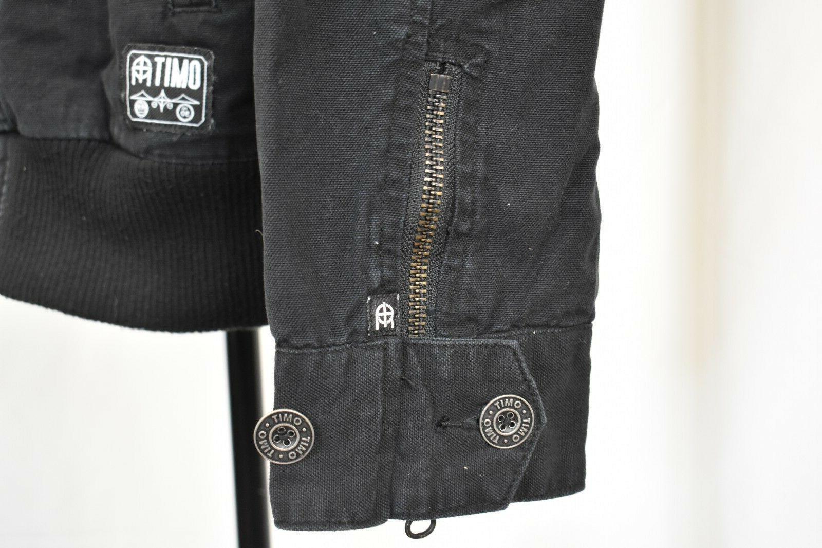OMIT Apparel Brand Full-Zip Black Jacket