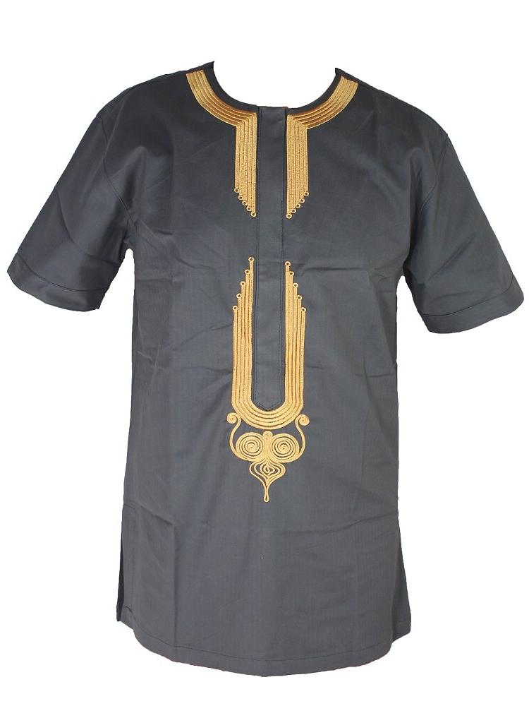 Arabic Thobe Golden Embroidery <font><b>Men</b></font>`<font><b>s</b></font> Islamic Islamic <font><b>Clothing</b></font> Short