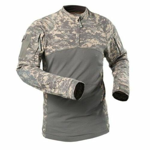 Army Tactical Mens T-Shirt Pullover