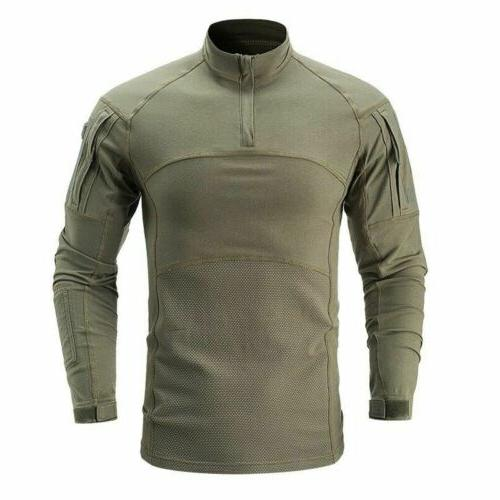 Army Tactical T-Shirt Pullover Tee