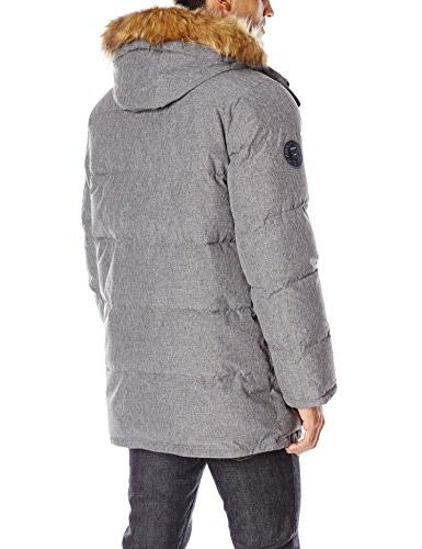 Tommy Men's Artic Cloth Quilted Parka