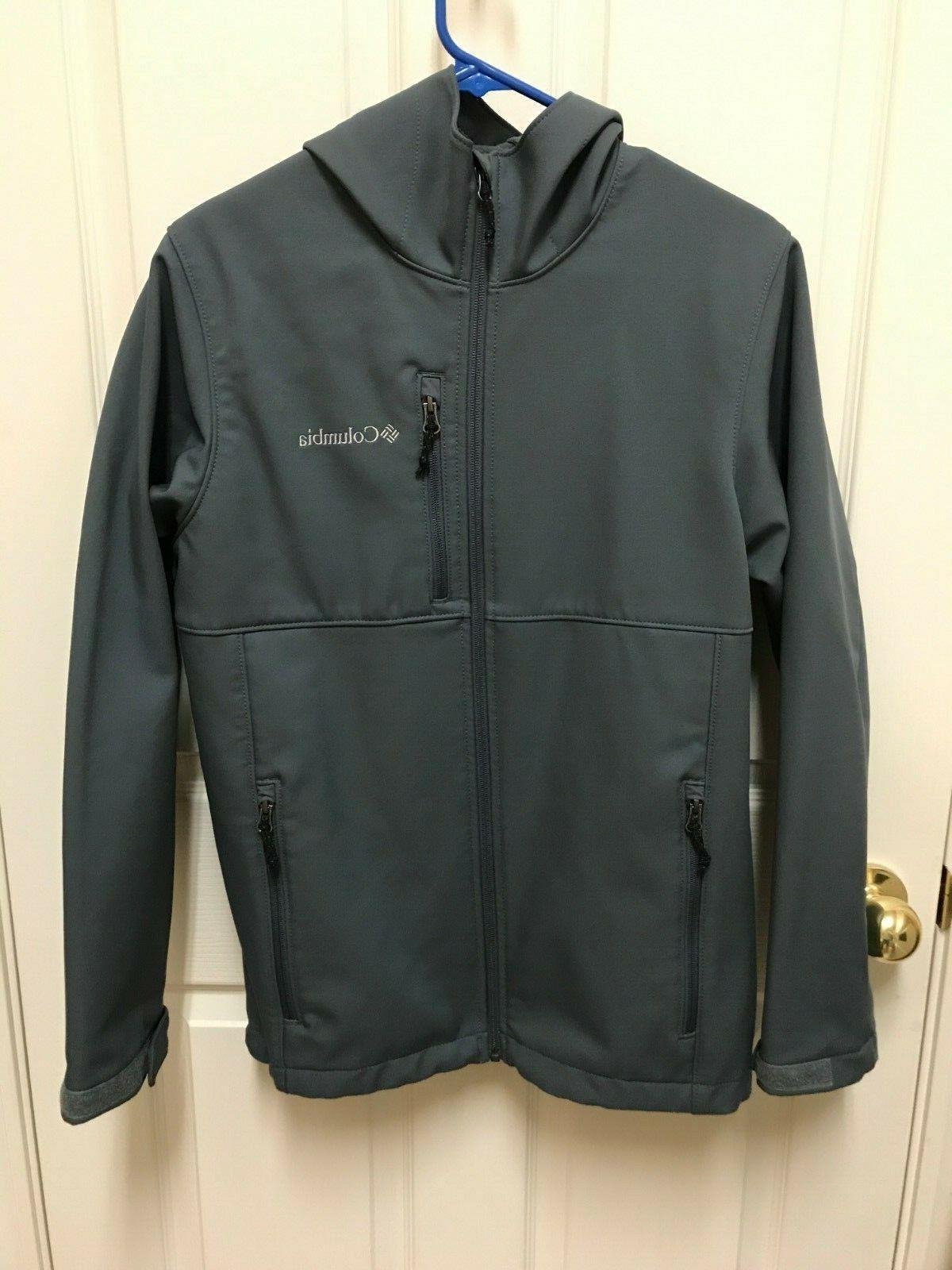 ascender hooded softshell jacket men s small