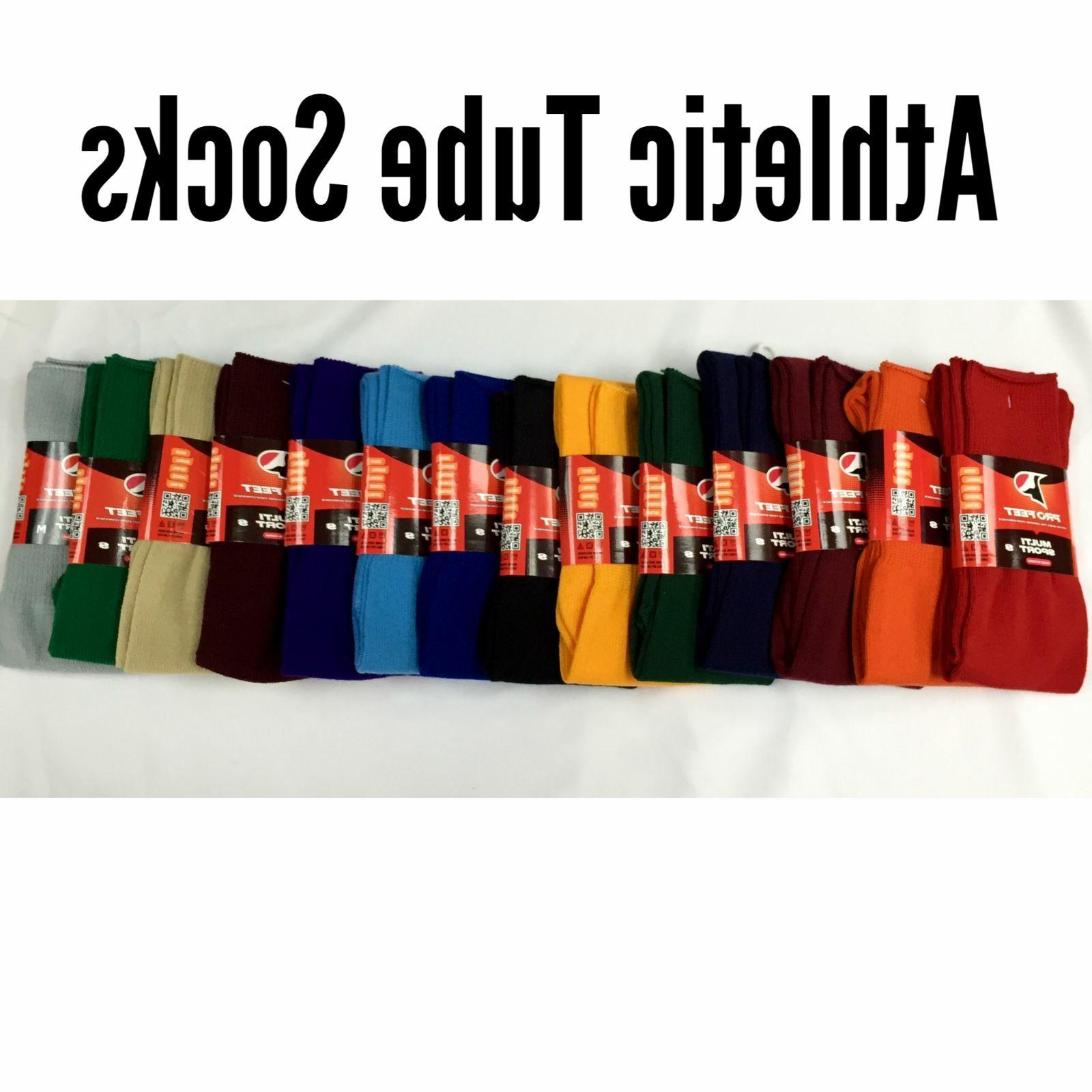 athletic all sport tube socks baseball soccer