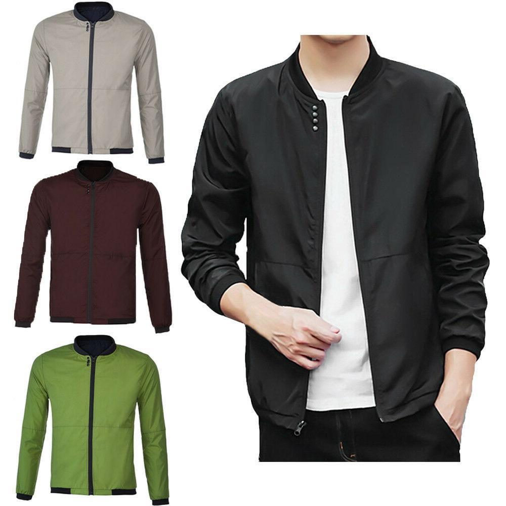 autumn winter jacket men peacoat mens cotton