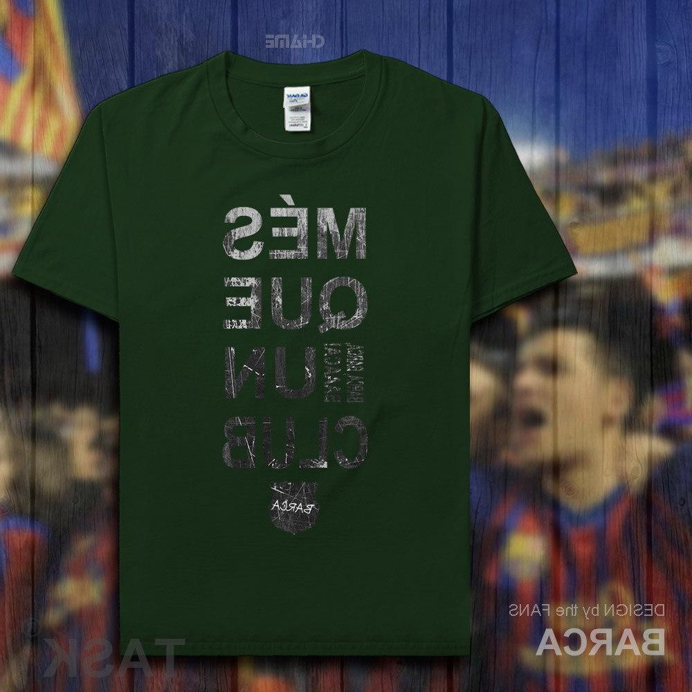 Barcelona <font><b>footballer</b></font> 100% cotton fitness fans short clothes <font><b>clothing</b></font>