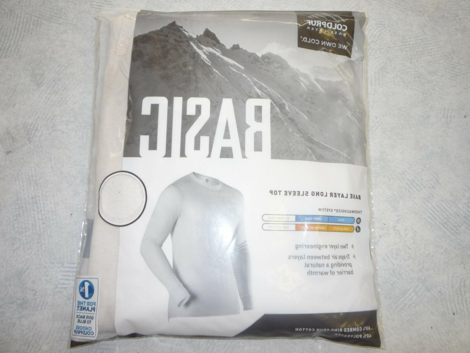 Coldpruf Layer Long Underwear, Sizes