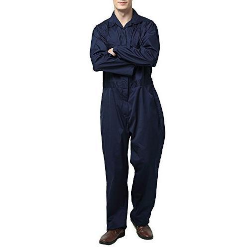 TOPTIE Men's Sleeve Zip-Front Gray,