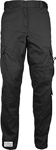 Army Universe Black Uniform 9 Pocket Cargo Pants, Poly Cotto