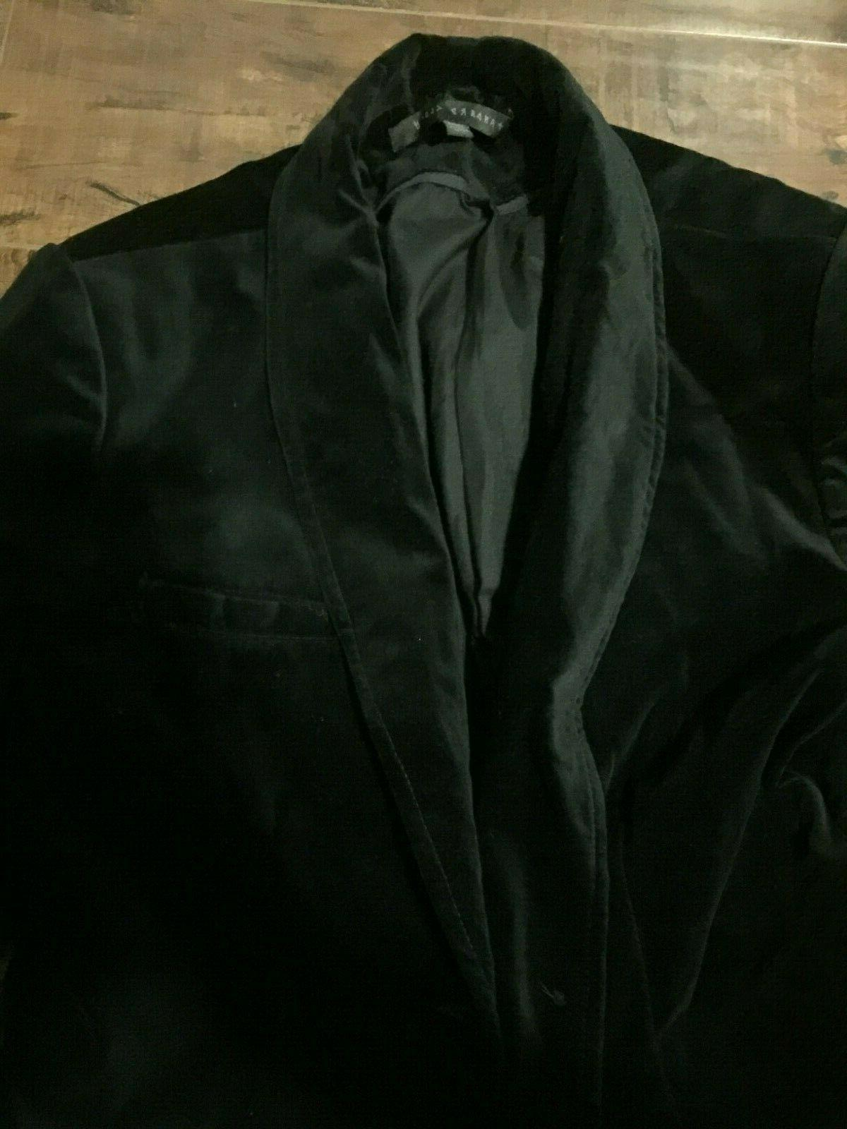 Black Men Jacket From Outfitters,