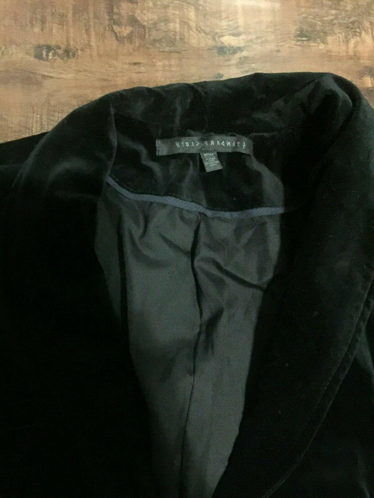 Black Velvet Blazer Men Jacket