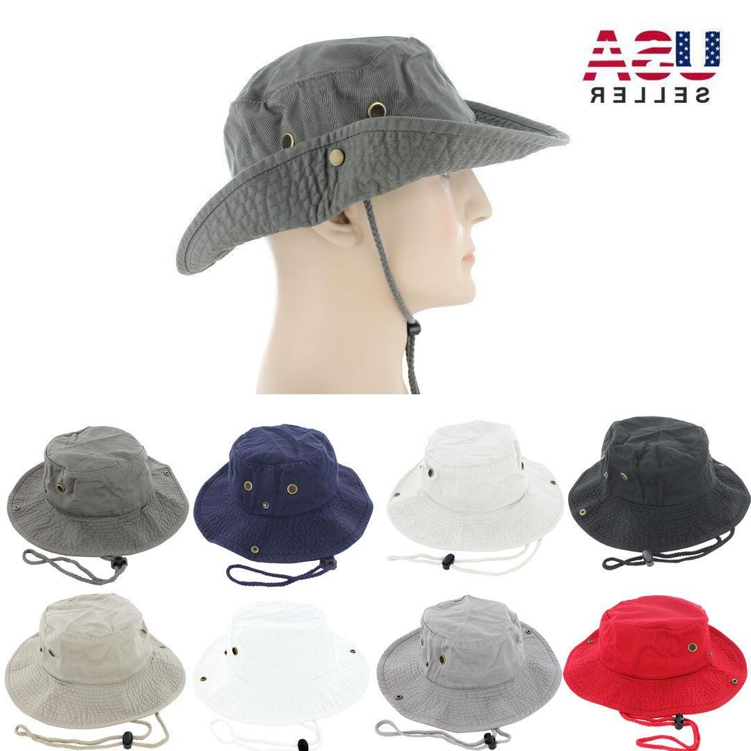 boonie bucket hat cap 100 percent cotton