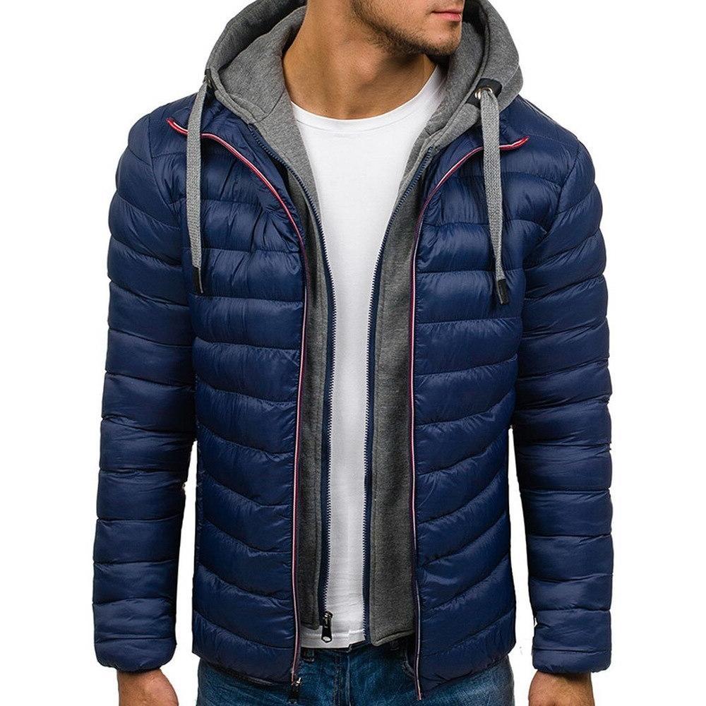 Zogaa Brand Winter <font><b>Jacket</b></font> 2018 <font><b>Mens</b></font> <font><b>Jackets</b></font> Coats Parka Plus Size S-3XL <font><b>Men</b></font> <font><b>clothing</b></font> 2018