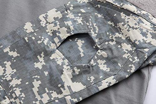 TACVASEN Mens Active Assault T-Shirt 5XL