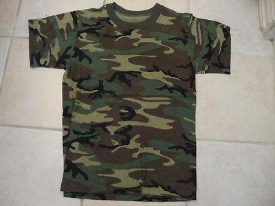 camouflage outdoor apparel green soft t shirt