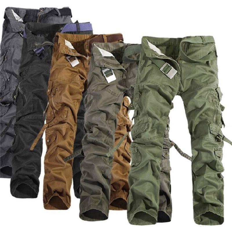 Camping Army Cargo Combat Camouflage