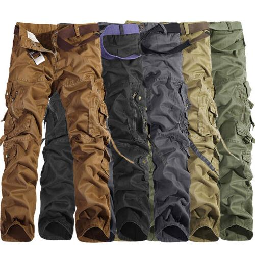 Camping Army Cargo Combat Men's Camouflage Casual