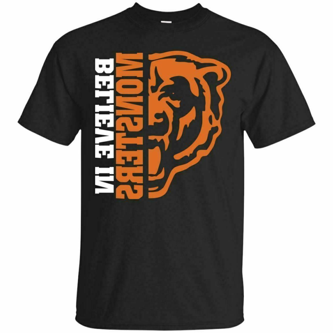 chicago football shirt believe in monster t