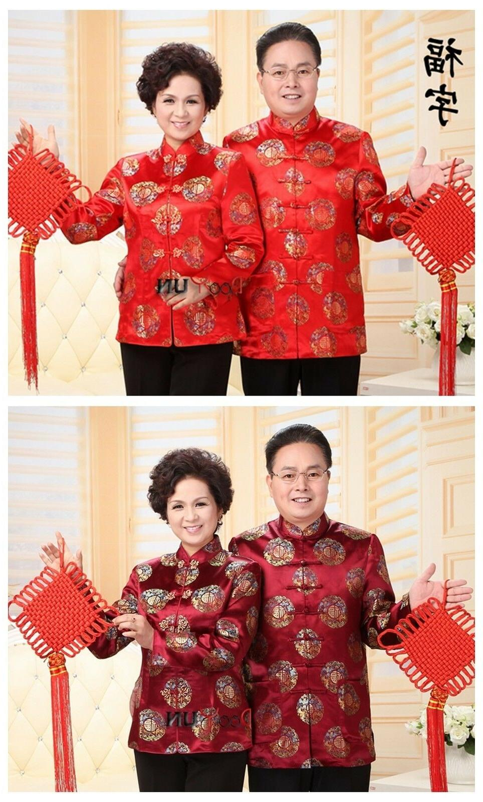 chinese traditional men s women s jacket
