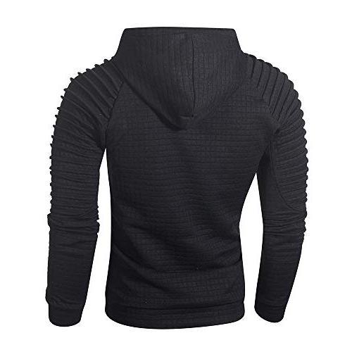WUAI Clearance Pullover Fit Sweatshirt Casual Outwear