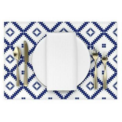 Cloth Modern Tile Moroccan Set 2