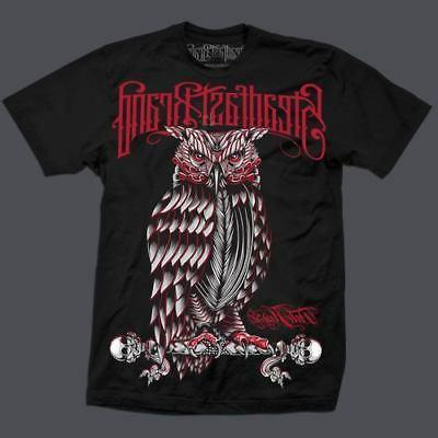 clothing black perched owl for men