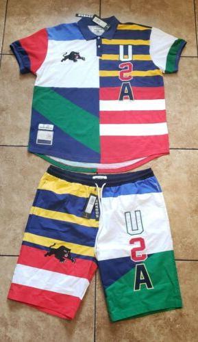 clothing brand urban style wear short set