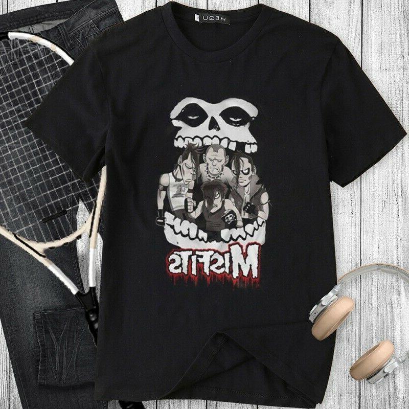 Clothing - Punk Rock T Shirt Hequ Casual Tops