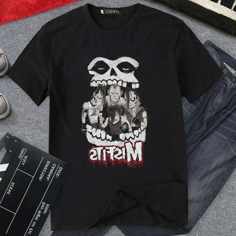 Clothing Punk Men's Shirt Brand Casual Tops