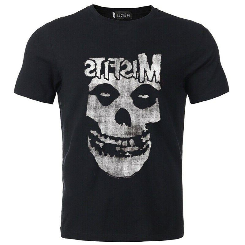 clothing misfits tshirt punk rock men s
