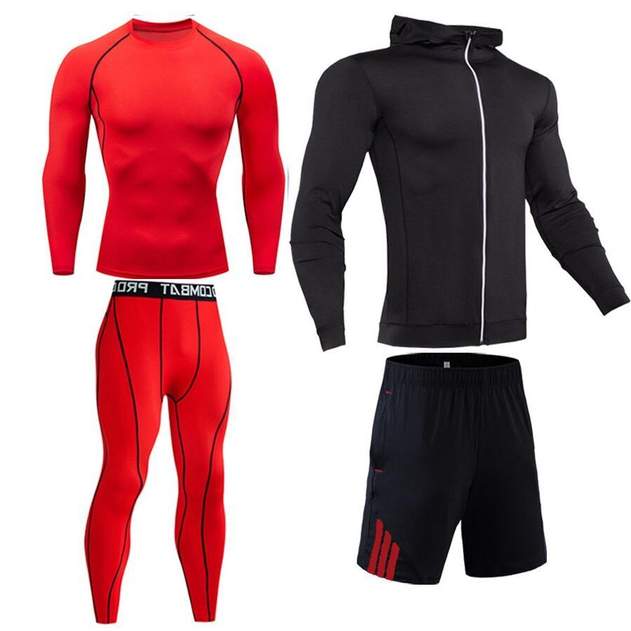 Compression 4 <font><b>cycling</b></font> base Gym Sport suit Outdoor jogging