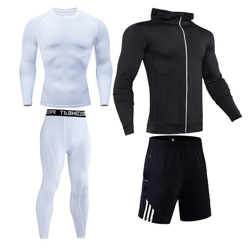 Compression <font><b>cycling</b></font> base layer <font><b>Men</b></font> Gym Sport Outdoor jogging S-XXXXL